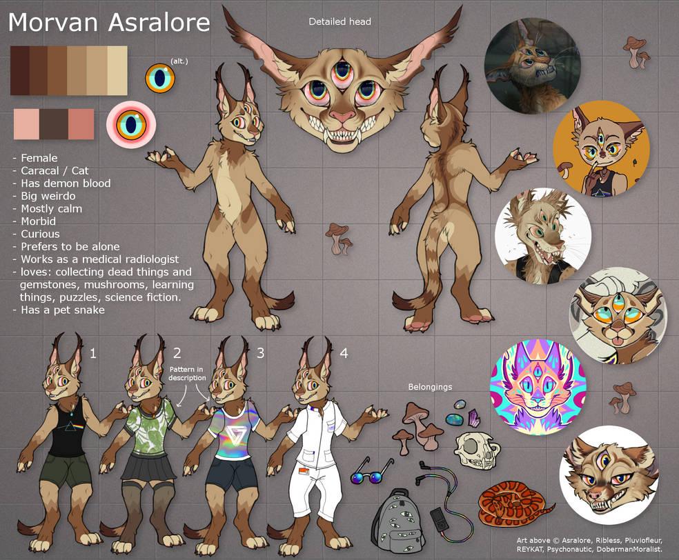 ref: Morvan Asralore by Asralore