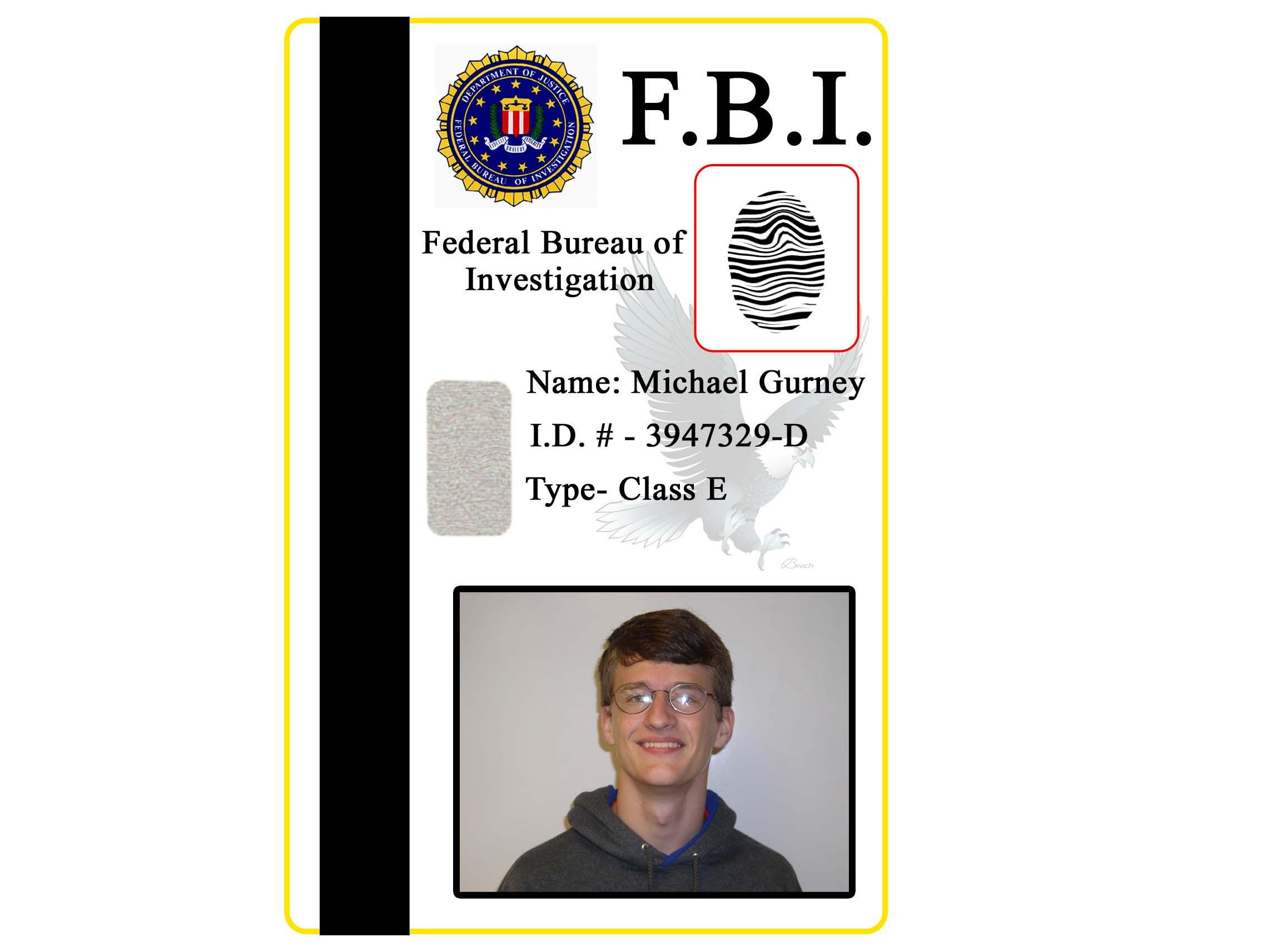 Fbi id badge by trekguy on deviantart - Fbi badge wallpaper ...