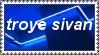troye sivan stamp by sat5uki