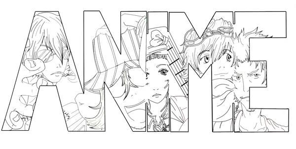 Line Art Group : Anime lineart by swedishbattery on deviantart