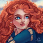 Merida Brave by JLPhillipsCreations