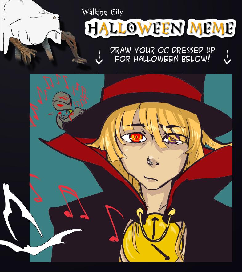 Walking City OCT: Happy Halloween Meme by ...