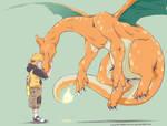 Pokemon: Calcifer the Charizard