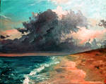 Painting: Beyond the Storm
