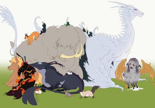 Lusternia: So Many Pets, Too Many Pets