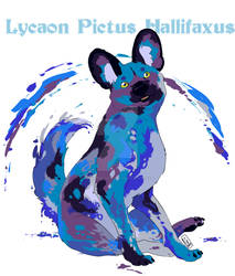 Commission: Painted Dog