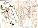 Sketchbook 4 by reimena