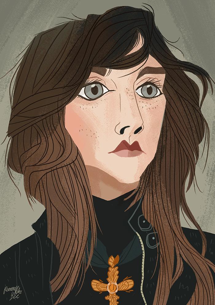Saoirse Ronan by callupish