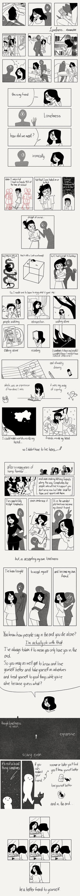 Loneliness : A Comic by reimena