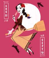 Kebaya and Aiskrim Potong by reimena
