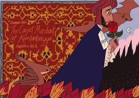 The Carpet Merchant Vol II Cover by reimena