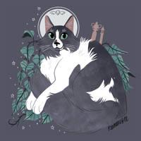 Mick: Pet Portrait Commission by reimena