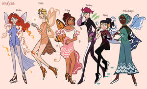 Winx Club Fairy Forms