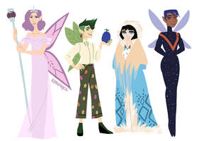 Neopets Faeries 02 by reimena