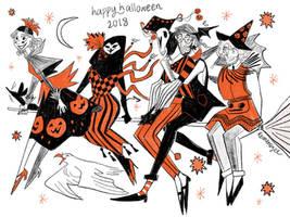 Happy Halloween 2018 by reimena