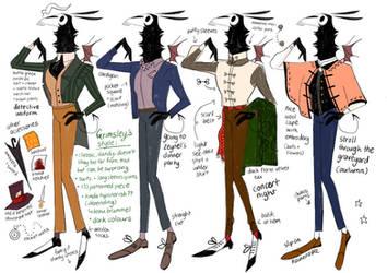 Grimsley Fashion Guide by reimena