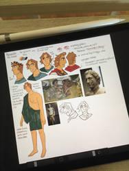 Early Model of Alexander by reimena