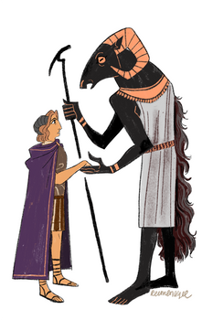 Alexander the Great meets his dad