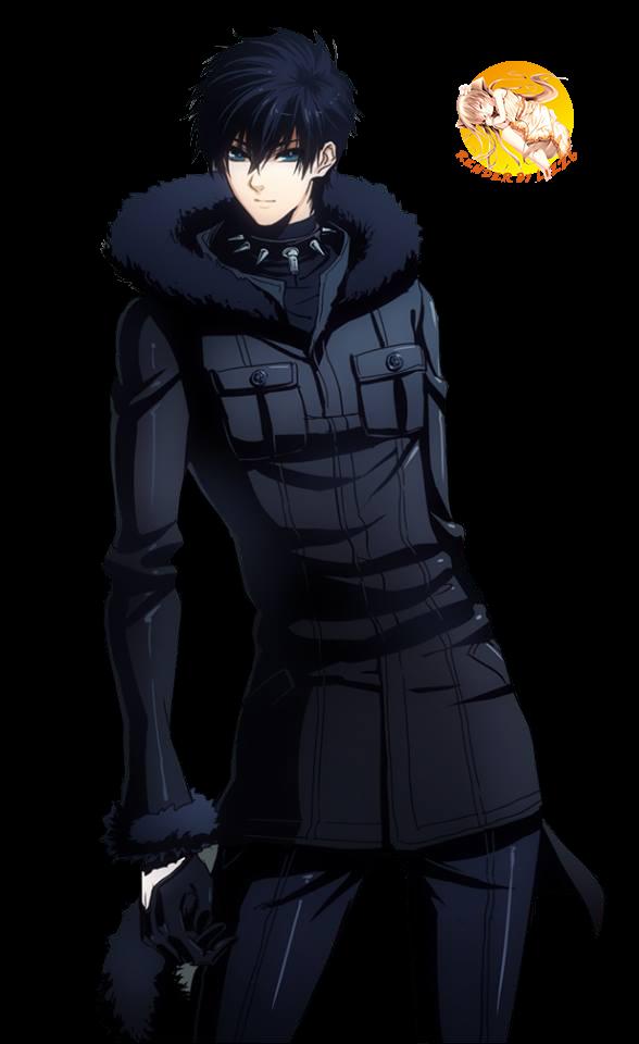 Anime Guy Glasses Silver Hair