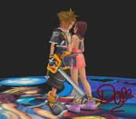 Will protect you 2- Sora x Kairi-MMD