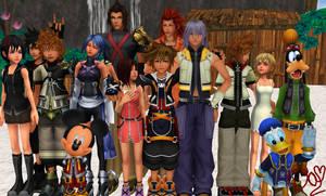Kingdom Hearts-MMD