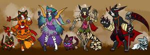 Halloween Maskcatz+Bijokin Auction ( close )