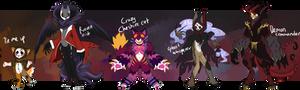HalloweenMaskcatz 2016 auction (close)