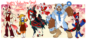 Maskcatz Vday themed batch (close)