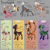 Re:Bonekeepers closed species + Traits by onigiryStuff