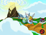 Rainbow Dash Hermes - The messenger of the gods by DarkPrinceismyname