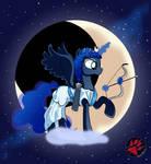 Luna Artemis - Goddess of Crescent Moon by DarkPrinceismyname