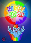Happy New Year 2021 by DarkPrinceismyname