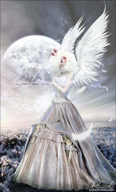 Blanche by Aegils