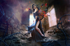 Les Fleurs du Mal by Aegils