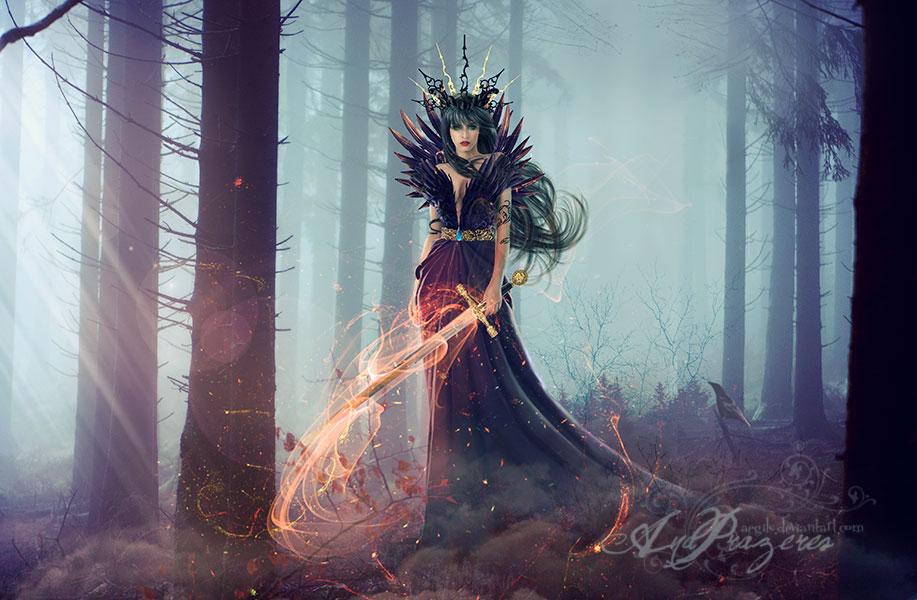 Mistress Of Crows by Aegils