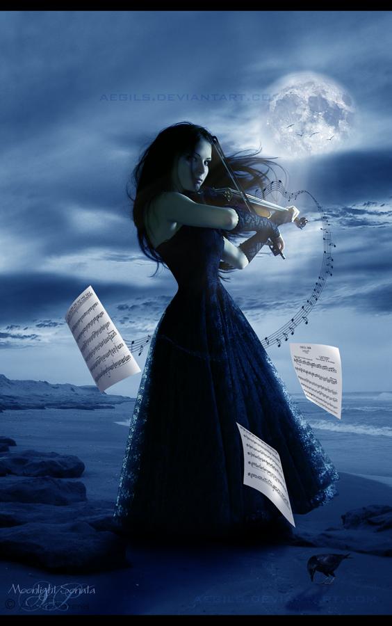 Moonlight Sonata by Aegils on DeviantArt