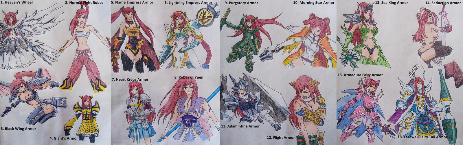 Swage-99 :: OhM... Erza Scarlet Armor Types