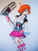 Nora by manateePhysicist