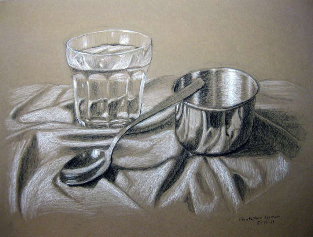 Scribble Drawing Of Objects : Still life metal on pinterest