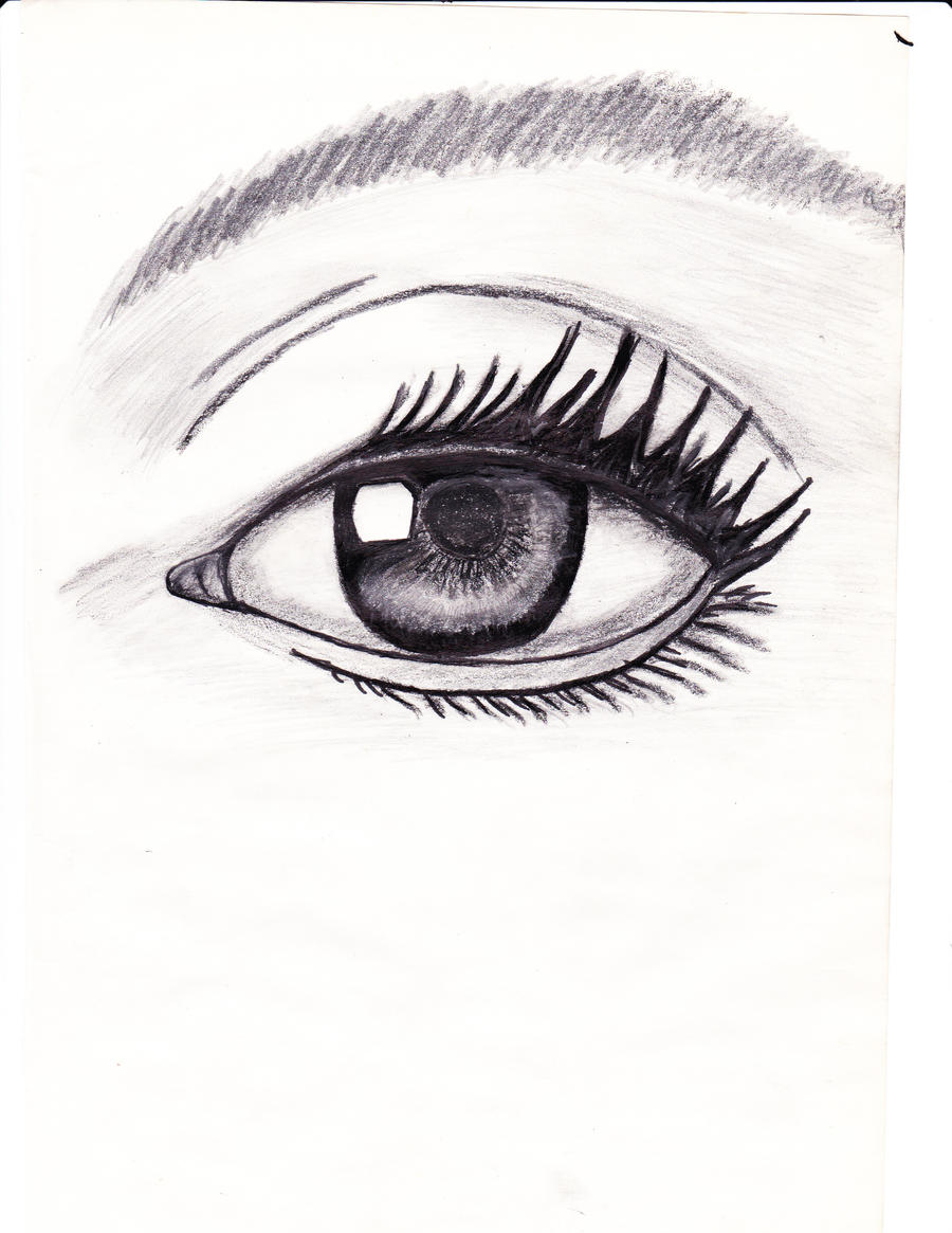 Realistic Eye Coloring Pages
