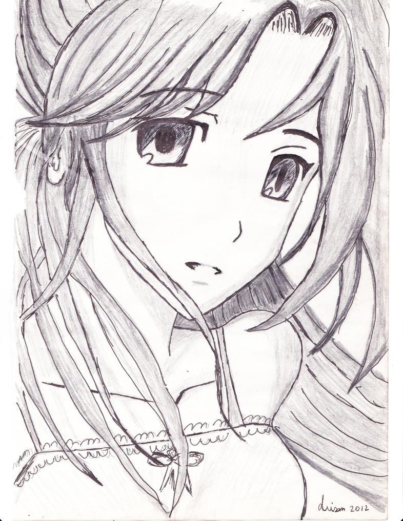Pencil anime Girl ( Mark Crilley fanart) by LianaVisan on ...