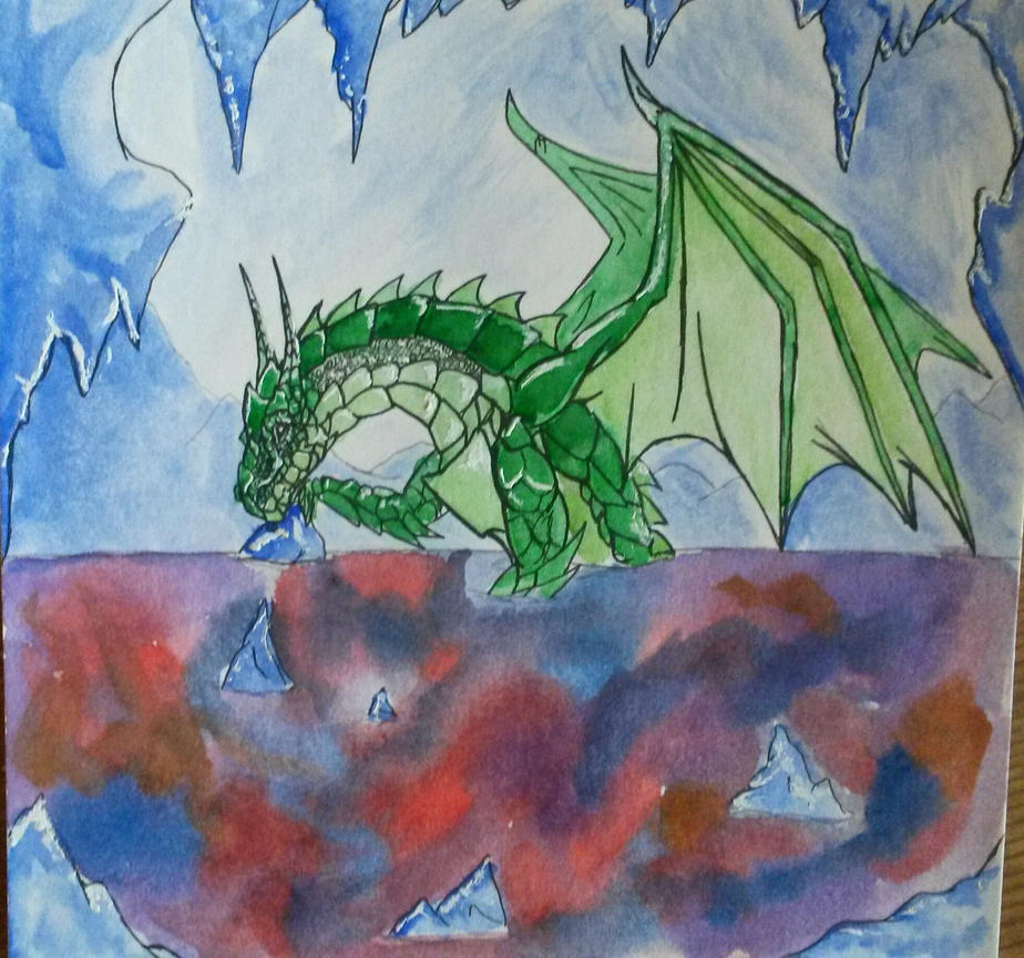 Birth of a Dragon by TheVindictiveWolf