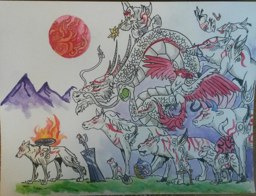The Celestial Gods by TheVindictiveWolf
