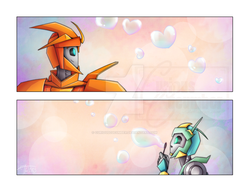 Bubblefulls of love