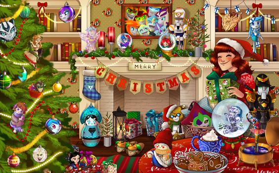 Christmas Calendar of Hide and Seek