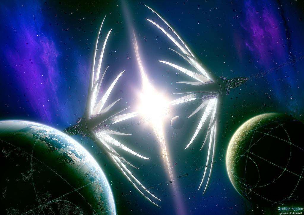 Stellar Engine by Julian-Faylona