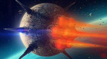 Harbinger of Destruction by Julian-Faylona