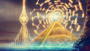 Golden Pyramid and the Eternity Gate