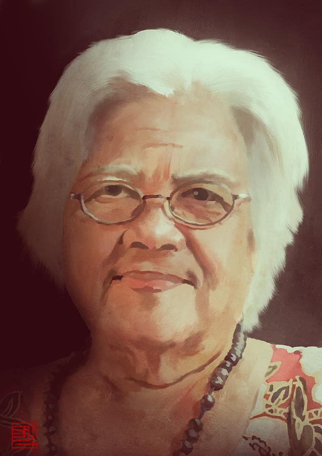 Grandma by Julian-Faylona