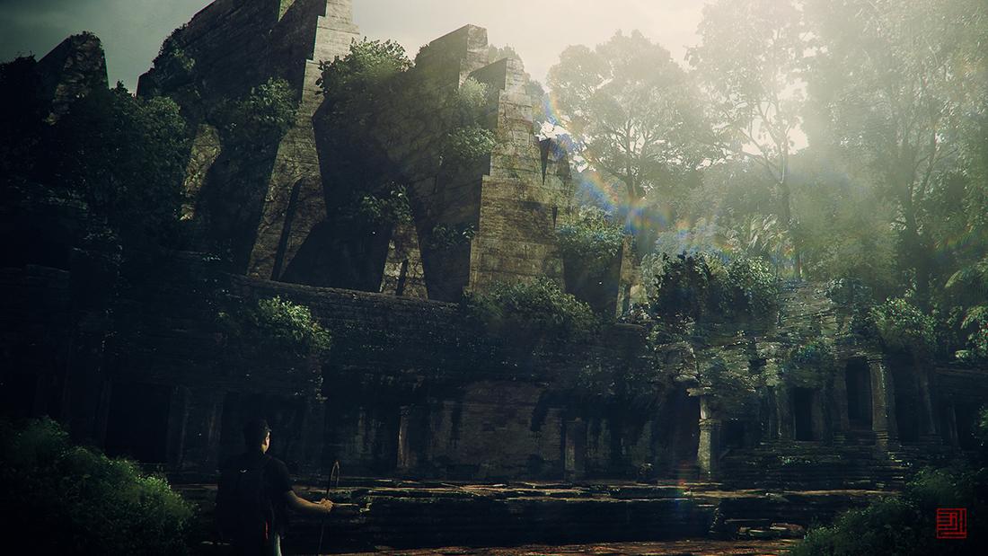 Jungle Ruins by Julian-Faylona